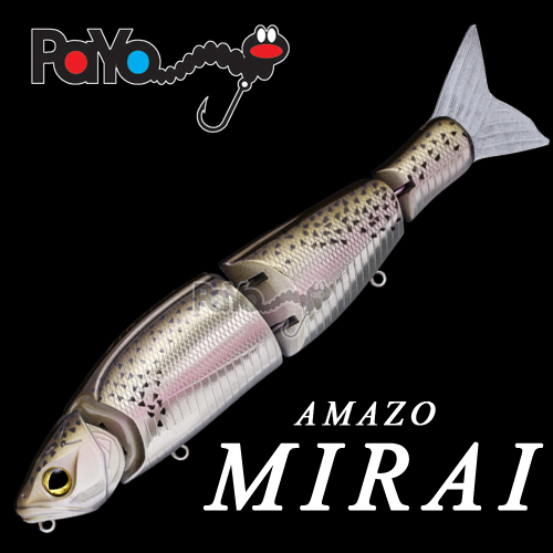 AMAZO MIRAI 180mm, 3oz, Suspend with OWNER hooks